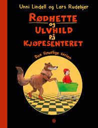 Rødhette og Ulvhild på kjøpesenteret